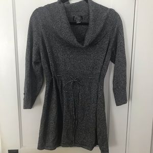 Maternity Cowl Sweater Tunic